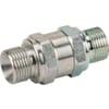 Check valve VU...M male