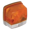 Lens amber, clear, CNH