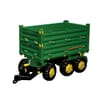 R12504 Multi trailer 3-assige 3-zijden kipper John Deere