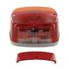 Rear light square, 12/24V, red/orange/white, bolt on, 121x56x121mm, Hella