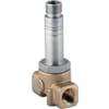 "2/2 NC brass body 1/8""-1/4"" high pressure, direct operated compressor, ESV 503 Series"
