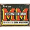 Plakat Minneapolis Moline