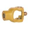 +W series wide-angle hub yoke with plain bore and keyway