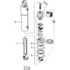 12 Vérin hydraulique pour largeur de sillon réglable en continu HSWT, HSWS