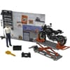 U62101 Bruder motorcyle workshop