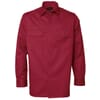 Arbejdsskjorte polyester / bomuld rød