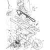 Rahmensatz - Fahrantrieb für Murray TYP 42560X52A