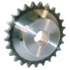 "Kettingwielen gehard met boring en spiebaan BS / DIN 8187 - simplex - 1"" x 17,02mm"