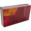 Rear light rectangular, 12V, red/amber, bolt on, Multipoint by Aspöck