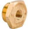 Reducing Adaptor female/male Brass M10x1-M16x1.5