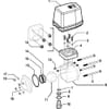 Spare parts for 4537 . 5 X 66T ( 3-way, electr.) - Arag