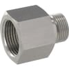 Stainless steel adaptor male / female BSP REDR..RVS