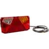 Multifunction rear RH light LED, rectangular, 12-24V, 242x134x36.5mm, Kramp