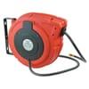 Self-rolling hose reel, air/water max. 20 bar