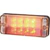Multifunction rear light LED, rectangular, 12-24V, 107.4x46.7x23mm, 5-pin, Kramp