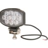 Work light LED, 15W, 1900lm, oval, 10/30V, 120x38x80mm, Flood, 10 LED's, Kramp