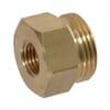 Reducing Adaptor female/male Brass M14x1.5-3/4 16UNF