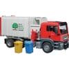 U03761 MAN TGS Seitenlader Müllwagen