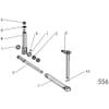 10 Mechanické nastavenie šírky prednej brázdy vhodný pre Agrolux / Kongskilde XRT 61075