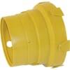 Guard cone for wide-angle flexo funnel