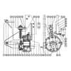 ESM - Einzelteile Hydromotor Danfoss / Casappa Antrieb
