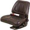 PVC seat, rear mechanical suspension  TS15501GP