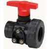 GEOline 2-way ball valve with inner thread, panel mounting
