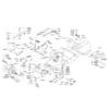 Rahmensatz - Lenkung für ALKO TYP PowerLine T20-102HDE