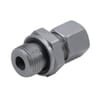 Male stud coupling with seal GEV--WD