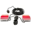 Light set LED magnetic 12m cable