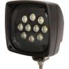 Work light LED, 57W, 5000lm, 140x140x159mm, Deutsch 2-pin, Spot beam, Kramp