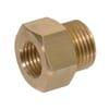 Reducing Adaptor female/male Brass M14x1.5-M18x1.5