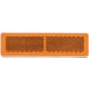 Square reflector amber, self-adhesive, Kramp/gopart