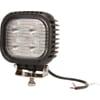 Work light LED, 48W, 4050lm, square, 10/30V, 125x90x125mm, Flood, 4 LED's, Kramp