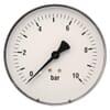 Manometer aansluiting onder 100 mm staal