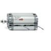 Dubbelwerkende compact cilinder serie 31 - buitendraad en magneet - boring ø16mm