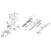 Mähbalken und Messer BM 1108 Einzelteile