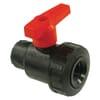 +PVC ball valves  -  2 way female thread