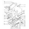 Rabe - Teleso pluhu BP-320 W / BP-321 W / BP-325 W / BP-350 W / BP-351 W