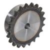 """Kettingwielen voorgeboord - BS / DIN 8187 - simplex 1/2"""" x 5/16"""" - inductie geharde tanden"""