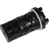 Axle for ball valve
