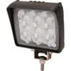 Work light LED, 18W, 2160lm, square, 12/36V, 122.6x58.1x109.4mm Deutsch plug, Flood, Kramp