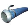 """PVC zuig- en persslang blauw/rood 6"""" compleet met KKV koppeling Perrot en zuigstuk"""