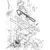 Rahmensatz - Fahrantrieb für Murray TYP 40560X50A