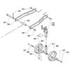 Kultivátor Kongskilde - nastavovacie zariadenie nožových brán, Vibroflex