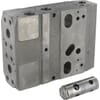 Basic modules PVB with facilities for shock valves PVG120