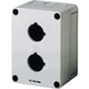 Polystyrene enclosures for 30mm button switches