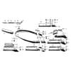 Niemeyer - telesá pluhu SH13G/SH15G (Delta)