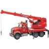 U02826 Mack Granite Crane truck