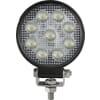 Work light LED, 15W, 1710lm, round, 10/30V, Ø 107mm, Flood, 9 LED's, gopart